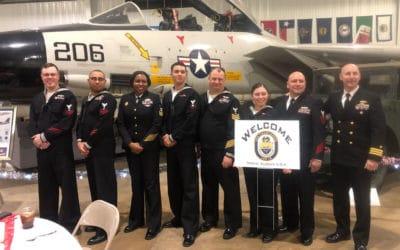 USS Charleston Crew Attend Annual Dinner